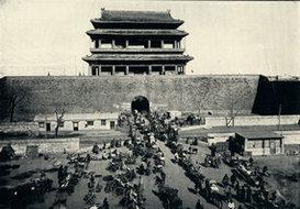 北京崇文门城楼
