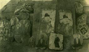 被盗窃而载留的壁画