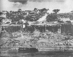 20世纪初的峡江水码头