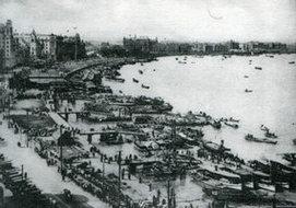 20世纪的上海码头