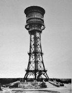 北京东直门水厂的水塔