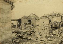 北京被拆房屋的照片