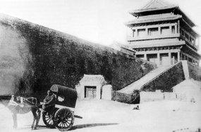 北京崇文门城楼东马道