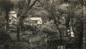 北京兜率寺墓地远景