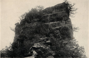 北京上方山天柱岩