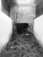 被日军破坏的院墙