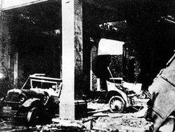 被工人赤卫队捣毁的铁甲车