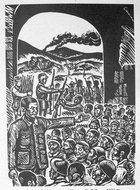 爱泼斯坦《人民战争》一书的插图