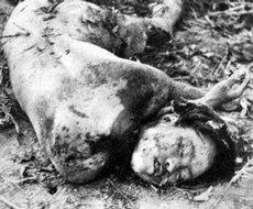 被日军剐刑杀害的英烈刘耀梅