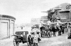 枣庄战斗中缴获的山炮