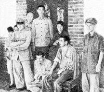 被俘的国民党部队军团以上军官和他们的家属
