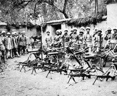 北河店战斗中缴获的枪炮