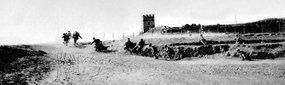 步兵炮兵协同攻占敌据点训练