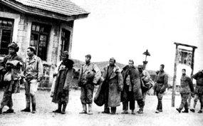被俘国民党军官兵