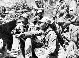 被俘国民党军人向解放军讲述宝鸡兵力部署情况
