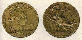 巴黎世博会奖牌