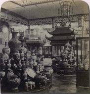 巴黎世博会中国馆内部