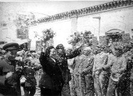 南疆军区欢迎常香玉