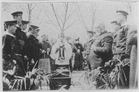 奥一匈总领事的葬礼