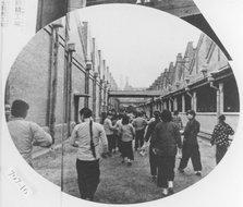 在杨树浦日本人纱厂上班的女工们