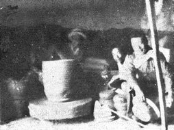 陈炉窑内水缸土坯