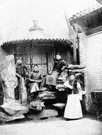 北京的长袍马褂