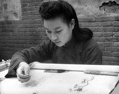 北京的刺绣工人