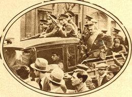 阿根廷革命军占领总统府时的情景