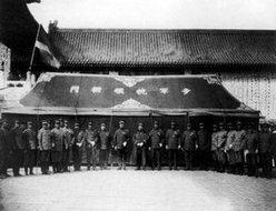 参加隆裕太后哀悼会的民国将领
