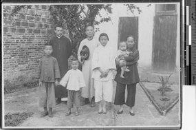 传教士沃克和梁姓家庭