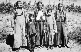 蒙古妇人的服饰