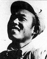 八路军总政前线记者、冀东军分区组织科长雷烨