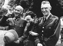 蒋介石和宋美龄和外国友人