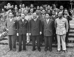 二战期间参加敦巴顿橡树园会议的中国代表团成员