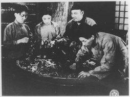 1933年拍摄的《春蚕》剧照