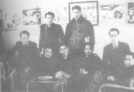 1945年在重庆的部分漫画家