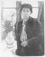 1945年潘玉良自画像