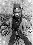 华山东峰的道士