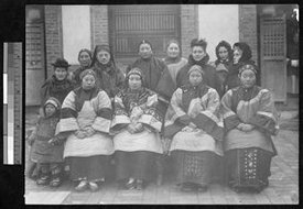 女传教士和中国妇女