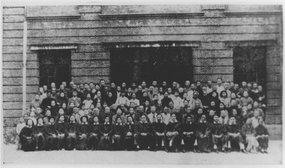 1945年5月牧师节第一浸会堂之部分人员