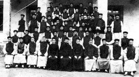 北京西什库教堂主教和教民