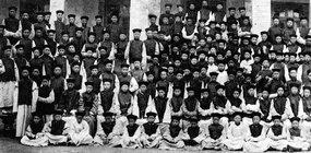 北京西什库天主教北堂的儿童修道院全体