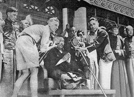 班禅大师为上海市民诵经祈福