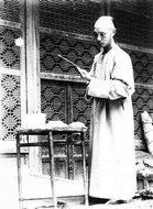 奥莱尔·斯坦因爵士第二次中亚探险时的中国助手蒋孝琬