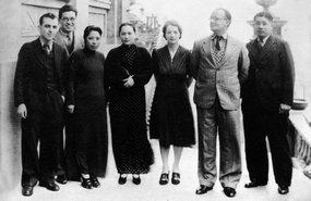 保卫中国同盟中央委员会成员合影